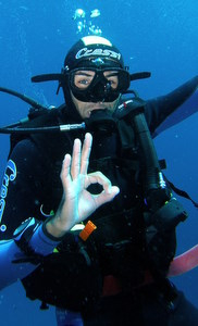 scuba diving instructor - st maarten